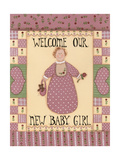 Welcome Baby I Giclee Print by Debbie McMaster