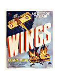 Wings Movie Poster Giclee Print
