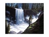 Cascada de primavera Lámina giclée por R.W. Hedge