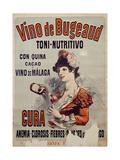 Vino de Bugeaud Giclee Print