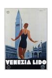 Venezia Lido Giclee Print