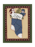 Stocking III Hope Giclee Print by Debbie McMaster