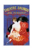 Theater Daunou Giclee Print