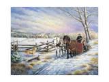 Sleigh Ride Home Giclee Print by Kevin Dodds