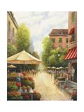 Street Scene Giclee Print by John Zaccheo