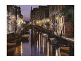 Venezia al Crepuscolo Giclee Print by Guido Borelli