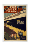 The Boat Train Giclee Print
