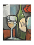 Wine Bottled Poetry Giclee Print by Tim Nyberg