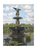The Fountain Giclee Print by John Zaccheo