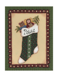 Stocking IV Peace Giclee Print by Debbie McMaster
