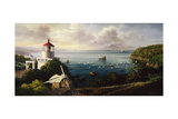 The Cove Guardian Giclee Print by Nicky Boehme