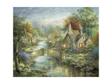 Stonehedge Bridge Giclee Print by Nicky Boehme