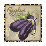 Vegetables 1 Eggplant Giclee Print by Megan Aroon Duncanson