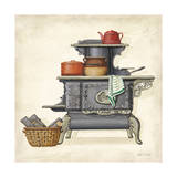 Stove B Giclee Print by Lisa Audit