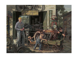 The Gift Giclee Print by Bob Byerley