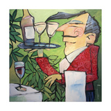 The Wine Steward Giclee Print by Tim Nyberg