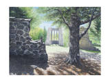 The Abby Ruins, Mackenzie King Estate Giclee Print by Kevin Dodds