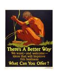 There's a Better Way Giclee Print