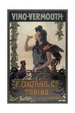 Vino Vermouth Cinzano Torino Giclee Print