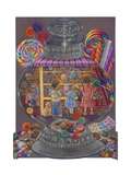 Sweeties (Candy Jar) Giclee Print by Tricia Reilly-Matthews