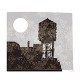 Water Tower Giclee Print by Teofilo Olivieri