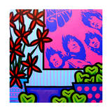 Stil Llife with the Beatles Impression giclée par John Nolan
