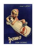 Yomo Vintage Dairy Reproduction procédé giclée