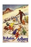 Arlberg Tirol Giclee Print