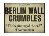 Berlin Wall Giclee Print