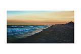 Promenade sur la plage Reproduction procédé giclée par Bruce Dumas