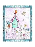 Bird House 2 Giclee Print by Megan Aroon Duncanson
