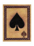Ace of Spades Giclee Print by John Zaccheo