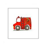 Ba Fire Truck Giclee Print