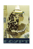 Visit Egypt Cleopatra Giclee Print