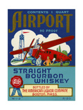 Airport Bourbon Whiskey Giclee Print