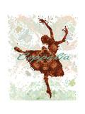 Ballerina Giclee Print by Teofilo Olivieri