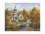 Autumn Worship Giclee Print by Nicky Boehme