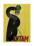 Bantam Hats Giclee Print