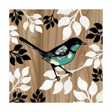 Bird Patchwork II Giclee Print by Erin Clark