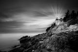 Bass Harbor Lighthouse Photographic Print by Moises Levy