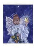 Angel of Christmas Stampa giclée di Tricia Reilly-Matthews