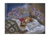 Visions of Sugarplums Giclee Print by Tricia Reilly-Matthews