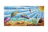 Beach Life I Giclee Print by Megan Aroon Duncanson