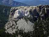 Aerial View, Mount Rushmore Photographic Print