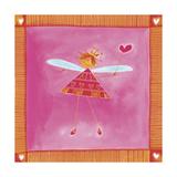 A Fairy Holding a Wand Giclee Print
