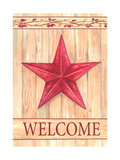 Barn Star Welcome Giclee Print by Melinda Hipsher
