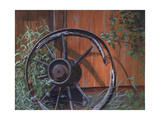 Wagon Wheel Giclee Print by Rusty Frentner