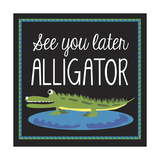 Alligator Giclee Print by Erin Clark