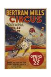 Bertram Mills Circus - Giclee Baskı