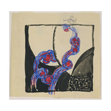 Amorpha Fugue in Two Colors V Giclee Print by Frantisek Kupka